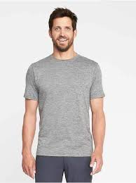 built in flex go dry performance tee for men