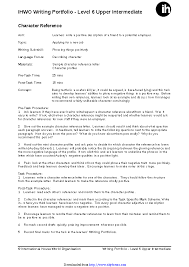 Character Reference Letter Template 2 Pdfsimpli