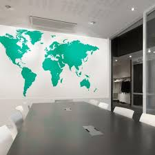 wall pictures for office. Extra Large Office World Map Vinyl Wall Sticker Pictures For T