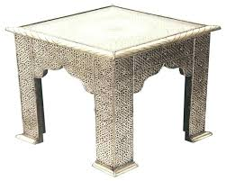 moroccan style end tables side table side and end tables all glass end tables modern glass