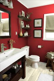 red bathroom color ideas. Small Red Bathroom With Decorations Color Ideas Pinterest