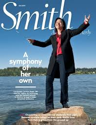 A Symphony Of Her Own Smith Alumnae Quarterly Smith College