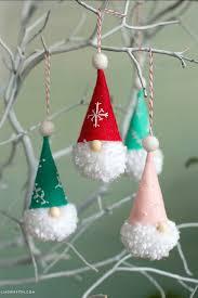 diy gnome ornaments holiday