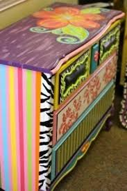 painted kids furniture.  furniture painted dresser  maybe copy a few patterns of the on kids furniture