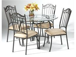 wrought iron dining table amazing black wrought iron table and chair sets round art dining contemporary
