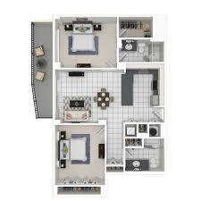 2 Bedroom B1 N ...
