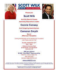 political fundraiser invite scott wilk invitation flap s california blog