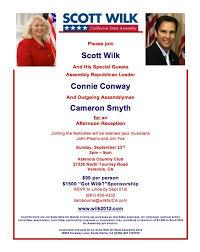 political fundraiser invite scott wilk invitation flap s california blog