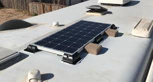 on a flat roof