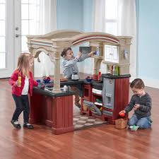 step2 grand walk in kitchen includes a 103 piece accessory set com
