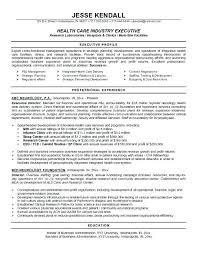 Sample Of Executive Resume Featured Executive Template Sample Hr ...