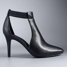Simply Vera Vera Wang Finch Women's High Heel Ankle Boots
