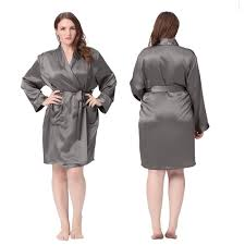 plus size silk robe luxury plus size silk robe are soft comfy and so fun for all ages