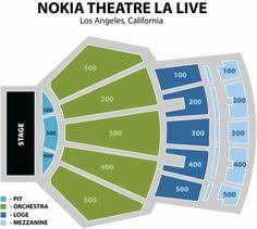 Nokia Center Seating Chart 28 Best Nokia Center Los Angeles Images Los Angeles