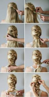 Hairstyles For School Step By Step 15 Simple Step By Step Hairstyles