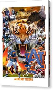 >auburn university canvas prints fine art america auburn university canvas print auburn tigers by mark spears