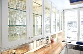 elegant beveled glass kitchen cabinet door and luxury white cabinets modern