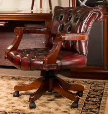 office leather chair. Winston Leather Office Chair