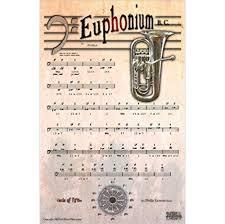 Prototypic Euphonium Fingering Chart Marching Baritone