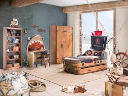 Pirate Themed Bedroom Furniture Pirate 6 Pcs Boys Bedroom Set Nautical Pirate Room