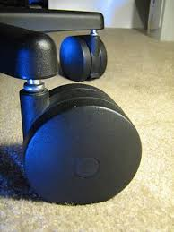 miracle caster qty 4 big chair wheels roll on carpet without mat 7 16