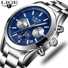 <b>Relogio Masculino</b> Men <b>Watch</b> LIGE Luxury Fashion Quartz Clock ...