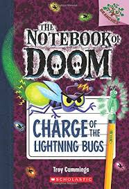 dad of divas reviews book review the notebook of doom charge book review the notebook of doom charge of the lightning bugs