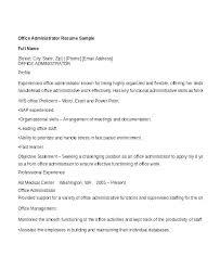 office administrator resume samples sample resume for office manager dental office manager resumes