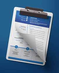 How Many Pages Is A Modern Resume Long Timeline Modern Double Page Cv Resume
