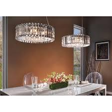 crystal skye large ip44 bathroom safe chandelier with crystal prism rods