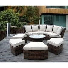 loopita bonita outdoor furniture. Genuine Ohana Outdoor Patio Wicker Furniture 7pc All Weather Round Couch Set Loopita Bonita T