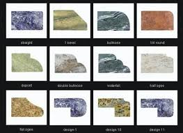 countertop edges types granite edges best with inside edge types design home improvement s near countertop edges types