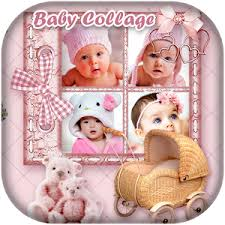 baby collage frame baby photo collage editor android apps on google play