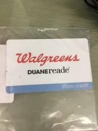 29 01 walgreens duanereade gift card card