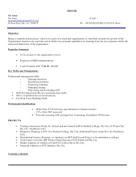 profile summary in resume for freshers fresher hr executive resume model 103