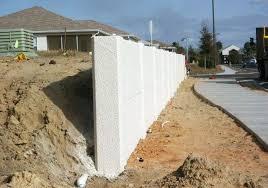 precast retaining walls flood control