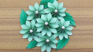 Paper Flower Bouquet Tutorial How To Make A Paper Flowers Bouquet Making Paper Flower Step By Step Complete Tutorial