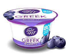 Dannon Light And Fit Greek Yogurt Blueberry Nutrition Blueberry Greek Yogurt Light Fit