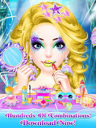 mermaid princess makeup makeover princess games 4