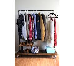 Rolling Coat Rack With Shelf Wardrobe Racks Interesting Garment Rack Store Garmentrackstore 35