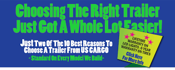 Us Cargo Trailers Better Quality Hassle Free Cargo