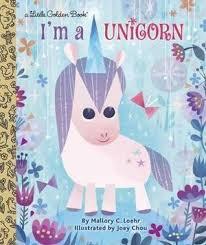 i m a unicorn little golden book