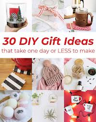 are any of you last minute gift makers it s ok if you re raising your hand right now because we ve put together a list of awesome diy gift ideas that take