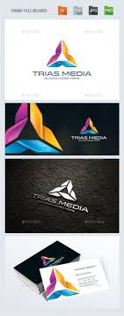 Trinity / Triangle Logo Design Template Vector #logotype Download it here:  http:/