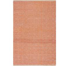 handmade fab habitat recycled cotton belfast apricot rug india awesome rug belfast