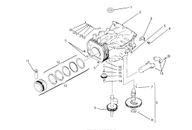 Crankcase kohler engine cv14s ps1472