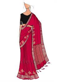 Saree Blouse Design Sketches