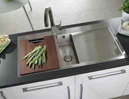 stainless steel kitchen sinks with drainboards double sink drainboard vantage single bowl