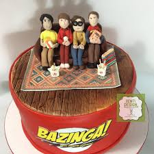 Big Bang Theory Birthday Cake Cakecentralcom