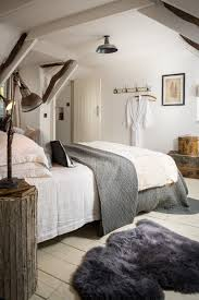 modern cottage interior design ideas. modern rustic bedroom in the attic: cottage near st agnes and truro cornwall interior design ideas